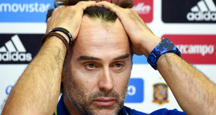 España despidió a su DT a un dia del Mundial