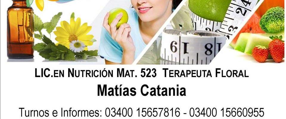 Matias Catania Nutrición