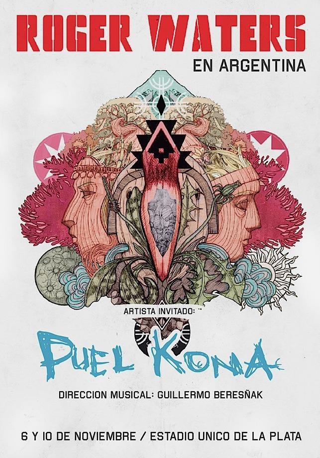 Puel Kona: la banda mapuche telonera de Roger Waters en Argentina