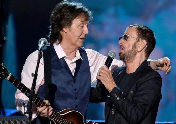 Locura Beatle: Paul McCartney volvió a tocar con Ringo Starr