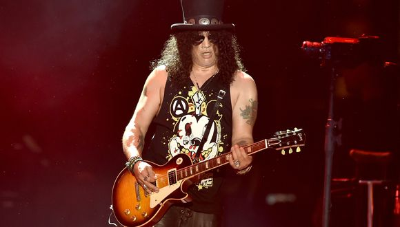 "Slash participó de una potente versión de ""Come Together"" de los Beatles"